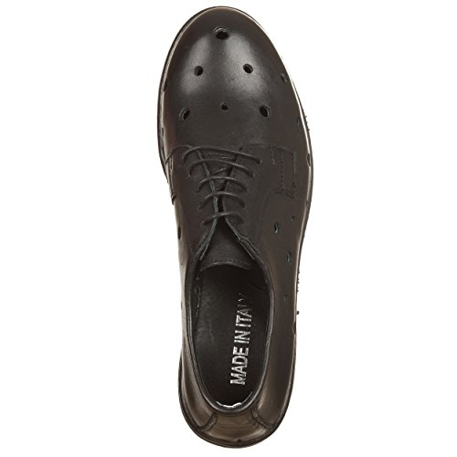 de Zapatos 35 negro negro mujer para megvtne Ers cordones negro 35 VialeScarpe nfI4UTOO