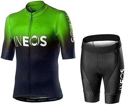 Hplights Traje Ropa Ciclismo Equipacion Hombre para Verano ...