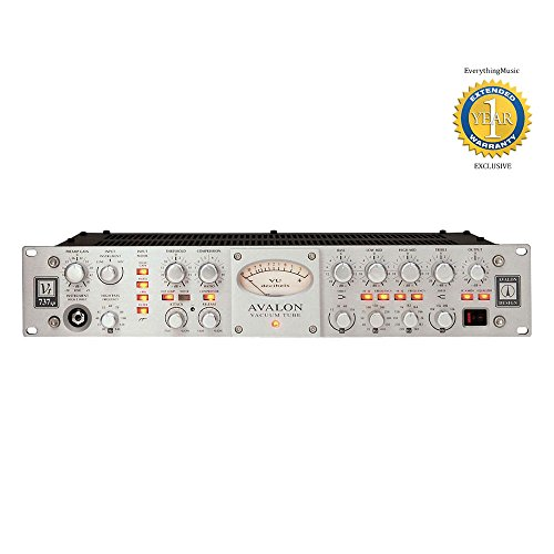Avalon Design VT-737sp Tube Microphone / Instrument Preamplifier, Opto-compressor, and Sweep Equalizer with 1 Year Free Extended Warranty