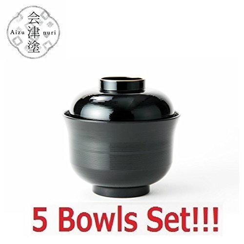japanese soup rice bowl with lid - 7