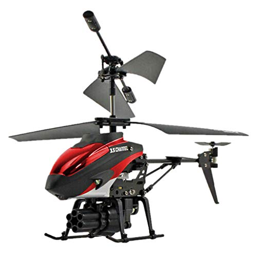- AMOFINY Fashion Baby Toys New 3.5CH Helicopter RC Drone Remote Control Missile Aircraft Model Toy
