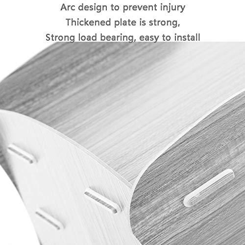 LQQ LQQ LQQ DIY-Dateihalter, Umweltfreundliches Gummi  Holz, Runde Platte, Keine Handverletzung, Niedriges Design, Schön, Feuchtigkeitsfest, Feste InsGrößetion (Farbe   Maple) B07QHJLYWK | Vielfältiges neues Design  dece00