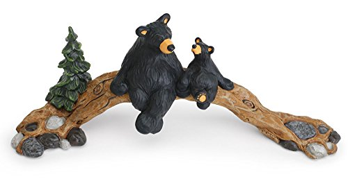 Bearfoots Bear The Bridge (Angel Bear Figurine)