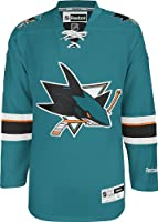 NHL San Jose Sharks Men's Center Ice Team Color Premier Jersey
