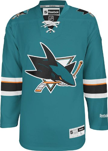 NHL San Jose Sharks Men's Center Ice Team Color Premier Jersey – DiZiSports Store