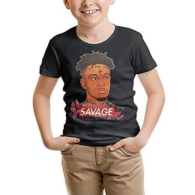 Children's Kid Cotton 21-Savage-Art- Tshirts
