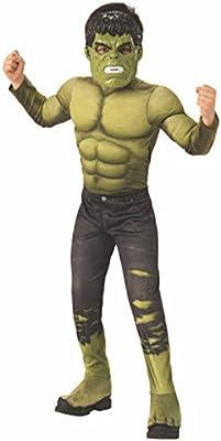Avengers - Disfraz de Hulk para niño, infantil 8-10 años (Rubies ...