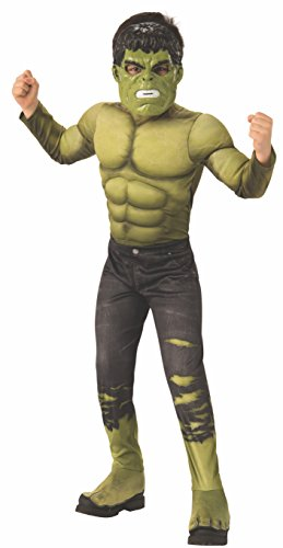 Rubie's Marvel Avengers: Infinity War Deluxe Hulk Child's Costume, - Mask Movie Hulk Deluxe