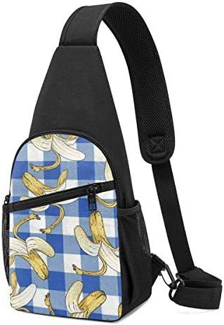ボディ肩掛け 斜め掛け バナナ ショルダーバッグ ワンショルダーバッグ メンズ 軽量 大容量 多機能レジャーバックパック