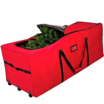 Large Heavy Duty Christmas Tree Storage Bag with Wheels Fits Tree ...