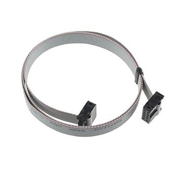 Cable plano con conectores de 10 pines para tarjetas Easytech para estufa de pellets, de 150 cm: Amazon.es: Hogar