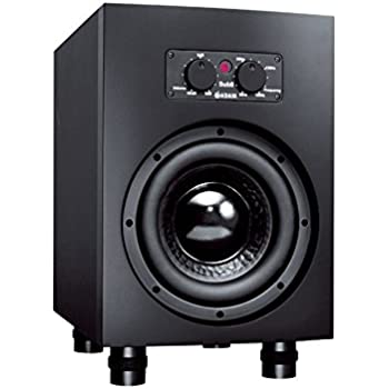 Adam Audio Sub8 Powered Studio Subwoofer Black