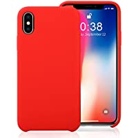 Jisoncase iPhone X Durable Shockproof TPU Bumper Silicone Case