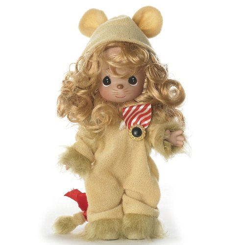 The Doll Maker Precious Moments Dolls, Linda Rick, Lion, Lion of Courage, Wizard of Oz, 7 inch Doll]()