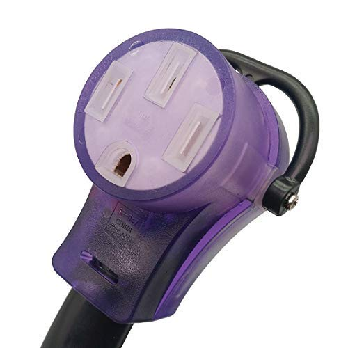 Parkworld 60110 RV 50amp Extension Cord 100FT NEMA 14-50, Plug and Receptacle with Lighted (100 Feet) by Parkworld (Image #2)