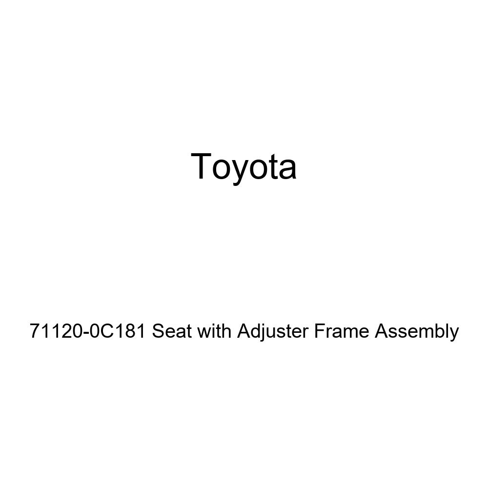 TOYOTA 71120-0C181 Seat with Adjuster Frame Assembly