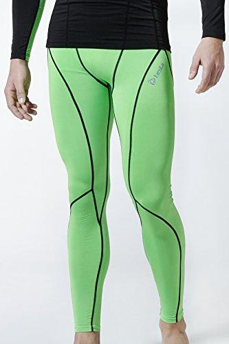 TM-P16-NEKZ_2X-Large j-3XL Tesla Men's Cool Dry Compression Baselayer Pants Leggings P16