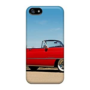 USMONON Phone cases New Super Strong 1952 Cadillac Sixty Two Convertible Tpu Case Cover For Iphone Iphone 5 5s