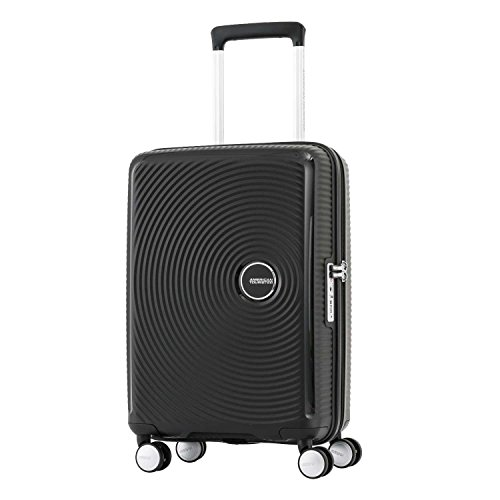 (American Tourister Curio Spinner Hardside 20, Black)