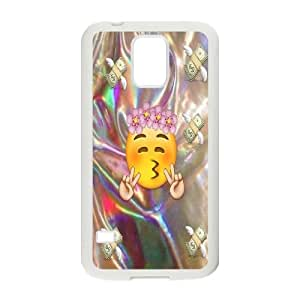 DDOUGS I EMOJI Best Cell Phone Case for SamSung Galaxy S5 I9600, Custom I EMOJI Case