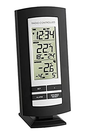 TFA 30.3037.01 termómetro ambiental - termómetros ambientales (Digital, Rectangular, AA,