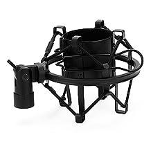Generic Black Spider Large Diameter Condenser Mic Shock Mount Holder Vibration Cradle