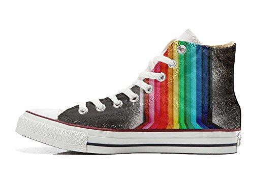 tridimensionnelle Italien Star Sneaker et Personnalisé artisanal produit Unisex Hi chaussures coutume Imprimés All Converse fOqgR