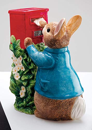 (Beatrix Potter Official Peter Rabbit Posting a Letter Money Box Bank - Boxed)