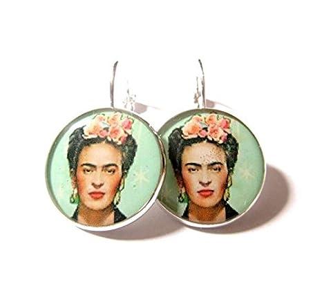 enorme sconto cerca il più recente in arrivo FRIDA Kahlo, FRIDA Kahlo gioielli, orecchini pendenti, a ...