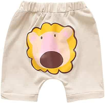 fa5549011a38 Moonker Infant Baby Boys Girls Summer Casual Elastic Shorts for 0-3 Years  Old Cartoon