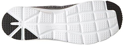 Skechers (SKEES) FASHION FIT- STYLE CHIC - Zapatillas de deporte para mujer, color negro, talla 39.5