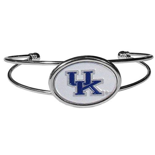 NCAA Kentucky Wildcats Womens Siskiyoucuff Bracelet, Metal, Cuff