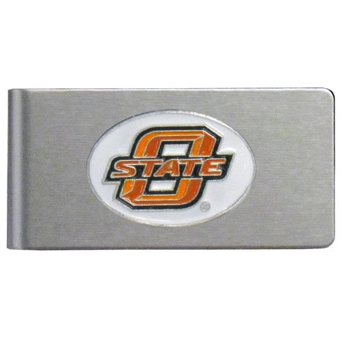 NCAA Oklahoma State Cowboys Brushed Money Clip