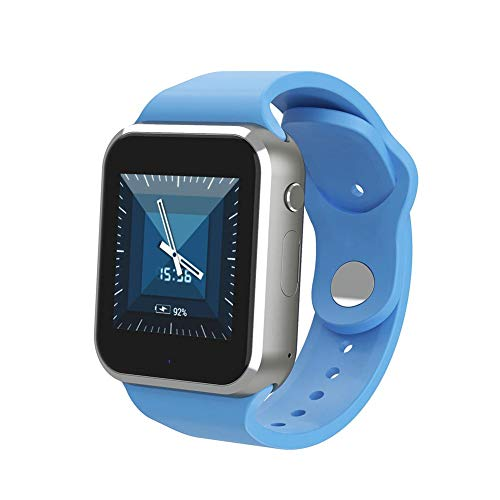 Tft Bezel (Woolves Comes with GPS All-Day Heart Rate and Motion Tracking Q10 3G WiFi 1.54 inch TFT Color Touch Smart Watch Long Battery Life, Bluetooth, Card Insertion Call Waterproof Step Counter Camera)