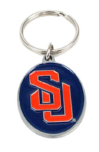 College Team Logo Key Ring - Syracuse Orange (Syracuse Orange Keychain)
