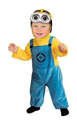 [Minion Costume - Toddler] (Despicable Me Dave Costumes)