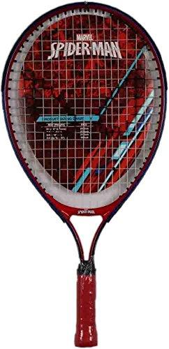 Marvel Junior Spider-Man Tennis Racquet, Red/White/Blue, 23″