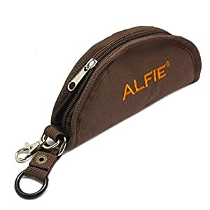 Alfie Pet by Petoga Couture - Fabric Expandable/Collapsible Travel Bowl (for food and water) - Color Brown