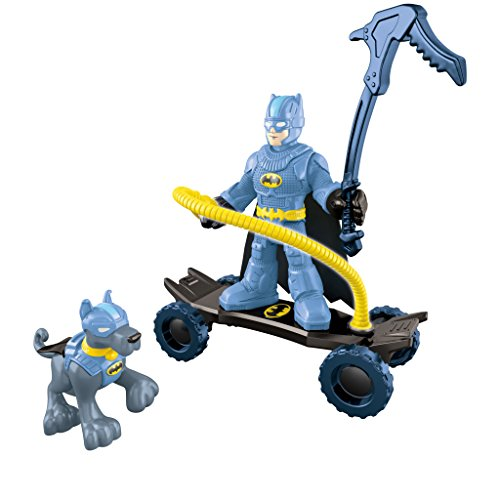 Fisher-Price Imaginext DC Super Friends, Mountain Batman and Ace Action Figures