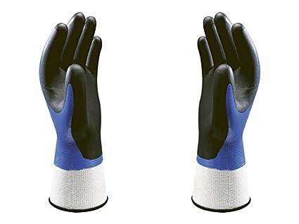 Showa 377 Nitrile Foam Grip Gloves (7/Medium) Globus Shetland Ltd