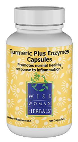 Wise Woman Herbals Turmeric Plus Enzymes Capsules, 90 Count Review