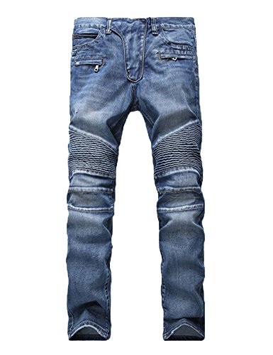 Motorcycle Pants Jeans - 5