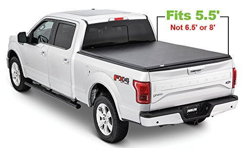 Tonno Pro Tonno Fold 42-314 TRI-FOLD Truck Bed Tonneau Cover 2015-2018 Ford F-150 | Fits 5.5' - Ford Front F-150 Bed