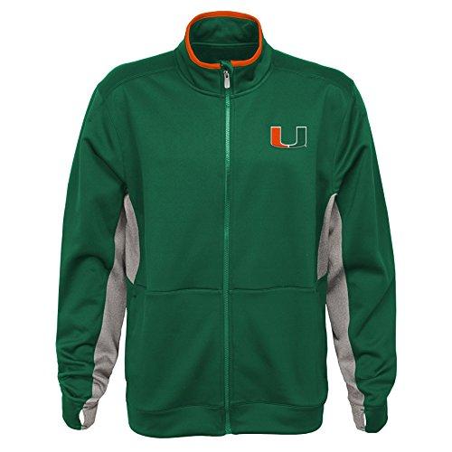 Miami Hurricanes Jacket - NCAA by Outerstuff NCAA Miami Hurricanes Men's