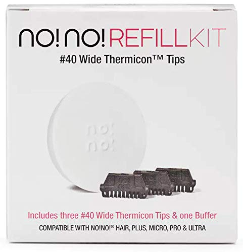 no!no! Thermicon Tip Refill Pack for Legs, Back, Arms and Chest