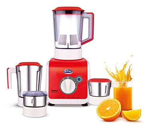 Ultra-Stealth-750-Watt-4-Jar-Mixer-Grinder-110-Volts