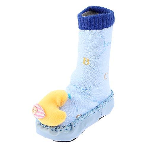Plancher chaussure Chausson Jtc Antidérapant Bébé Et Pour chaussettes Semelle Bleu Blanc noir Clair Crochet Avec xTSxRwWqZn