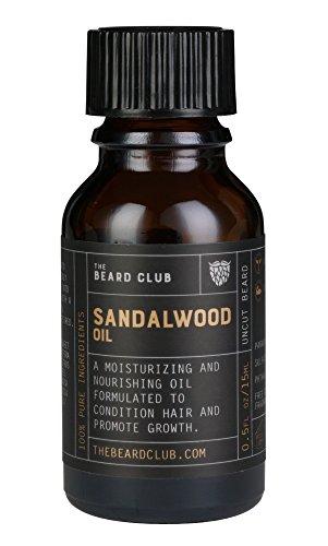 Sandalwood Beard Oil   The Beard Club   Styles & Moisturizes Your Beard   Healthier Facial Hair & Skin