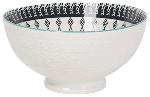 Now Designs 6 inch Embossed Bowls, Set of 6, Casablanca Design