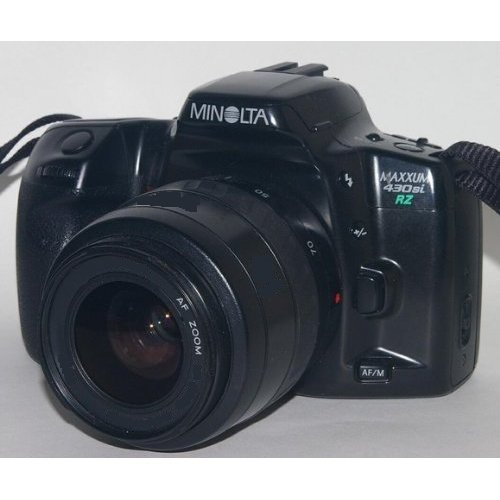 Minolta Maxxum RZ430si 35mm Auto Focus SLR Camera with 28-80mm Lens Zoom and QD by Minolta